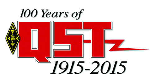 Журнал QST празднует свое столетие в 2015 году
